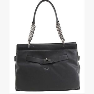 Guess Black Darby Handbag- NWT